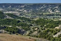 A View Across Painted Canyon (Theodore Roosevelt National Park)