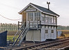 LNER Sleaford North Signal Box (GER 1882) on 28th September 1986