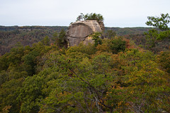 View of Courthouse Rock