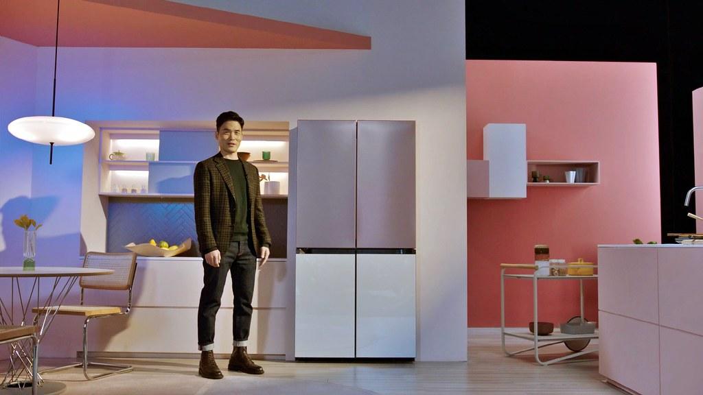 【新聞照片2】Samsung Bespoke 4-Door Flex冰箱1