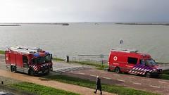 Oefening duikteam brandweer Flevoland