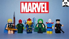 Heroes & Villains [Marvel Minifigs #15]