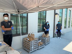 PUSD lunch distribution