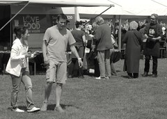 Photo of People at a food festival in Southport