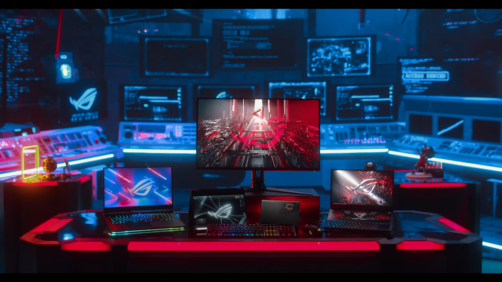 電競筆電ROG Flow X13、Zephyrus Duo 15 SE、ROG Swift PG32UQ與多款頂尖戰備勁勢登場
