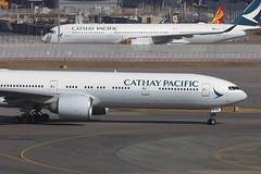 B-KQA, Boeing 777-300ER, Cathay Pacific, Hong Kong