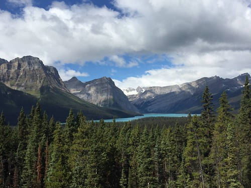 Icefield Parkway - lac Hector