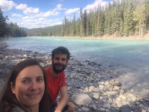 Jasper NP - Camping au bord de l'eau