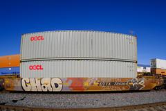 Freight Benching - Santa Fe Depot, San Bernardino (01-09-2021)