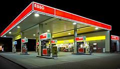 Tankstelle (ESSO)