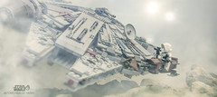 MILLENIUM FALCON ..SURPREISE IN THE FOG