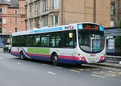 Photo of First Glasgow SJ51 DHN (61643; ex-SV654)   Route 34   Battlefield Road, Mount Florida
