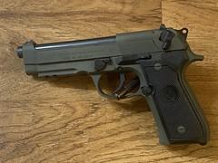Beretta 96A1 - OD Green Cerakote