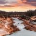 Texas River Sunset
