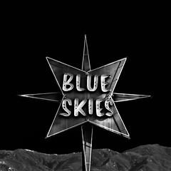 blue skies. santa barbara, ca. 2013.