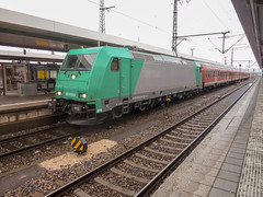 Photo of 185616 on an S-Bahn service at Nurnberg Hbf, 12 February 2011,
