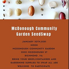 #repost from our sister garden @mcdonoughgarden ・・・ It's almost National Seed Swap Day and with the way things are looking if you don't get your seeds now you might just be out of luck! Don't fret ! We've got you covered, bring out the seeds you don't nee