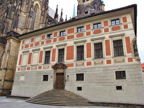 Bishop's Palace, Third Courtyard, Royal Castle, Prague, Czech Republic