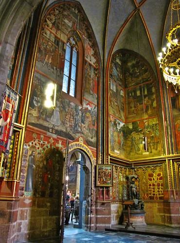 St. Wenceslas Chapel, St. Vitus Cathedral, Royal Castle, Prague, Czech Republic
