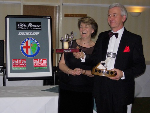 Clive Hodgkin with Prepararers Trophy 2005