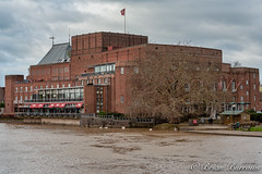 Photo of Royal Shakespeare Memorial Theatre at Stratford