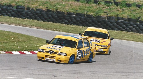 Phil Astell and Chris Finch at Anglesey 2005