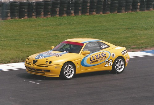 Tony Soper GTV at Donington at Donington 2006