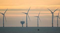 Photo of Gunfleet Sands wind farm