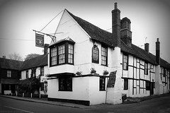 Photo of White Hart Godstone / 1990