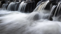 Photo of Water running over rocks in Newstead Abbey