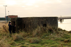 Photo of Pillbox, walney channel Barrow Island