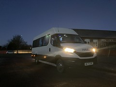 Photo of Irving's of Carlisle MK70 XRC Iveco Daily 16 seater