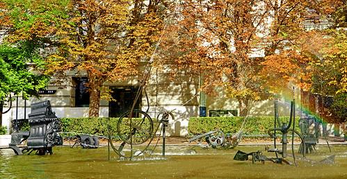 La fontaine Tinguely (Bâle, Suisse)