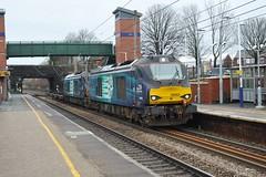 Photo of 68003 and 68034 Leyland Station 16-1-21.