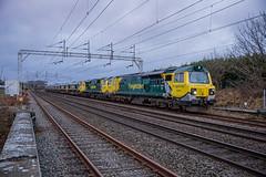 Photo of 70002 Convoy Chelford Loops 16012021