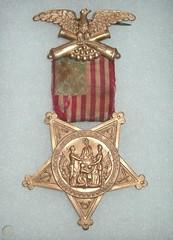 1880s - GAR medal