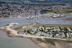 Photo of Brightlingsea Harbour & St Osyth - Point Clear aerial image
