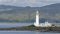 Photo of Lismore Lighthouse, Eilean Musdile, Inner Hebrides.
