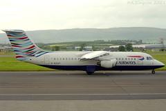 Photo of British Airways CitiExpress - G-BZAT - Glasgow Airport (GLA/EGPF)