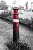 Red Post, Red Car