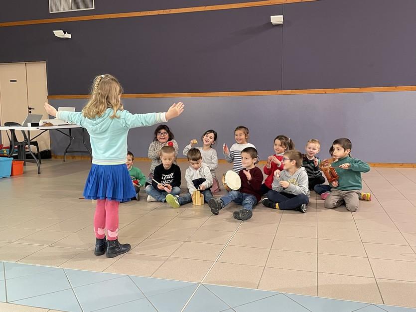 Un beau projet musical en milieu scolaire