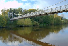 Photo of Footbridge over the river at Chester