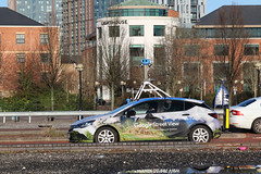 Photo of 12th January 2021. Google Street View Camera Car, Salford Quays, Greater Manchester