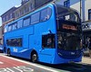 Vectis Blue 1519 is on St James Street while on route 1 to Cowes Carvel Lane via St Mary's Hospital and Park & Ride. - HW62 CCD - 1st August 2020