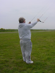 """Photo of Brian Flying the Peter Lynn 4.0m² """"Pepper II"""" (01)"""