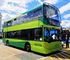 Southern Vectis 1146 is parked in Ryde Bus Station after completing a trip on route 3. Sadly the driver (who can be seen walking away from the bus in the white shirt) passed away in October. - HW09 BCE - 3rd August 2020