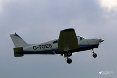 Photo of G-TOES Piper PA-28-161 Cherokee Warrior II, Freedom Aviation Ltd, Cotswold Airport, Kemble, Gloucestershire