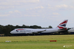 Photo of G-BYGB Boeing 747-436, British Airways, Cotswold Airport, Kemble, Gloucestershire