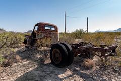 Desert Truck, Terlingua Ranch, Texas