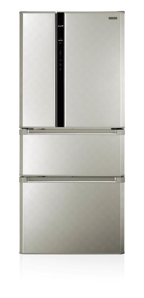 1-CHIMEI奇美鮮靜美電冰箱(四門:UR-P61VD8)輕鬆收納大量食材,新春筵席大展廚藝有面子,更能留住美味健康有裡子。建議售價:$37900